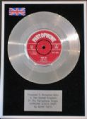 "ADAM FAITH -7"" Platinum Disc- SOMEONE ELSE'S BABY"